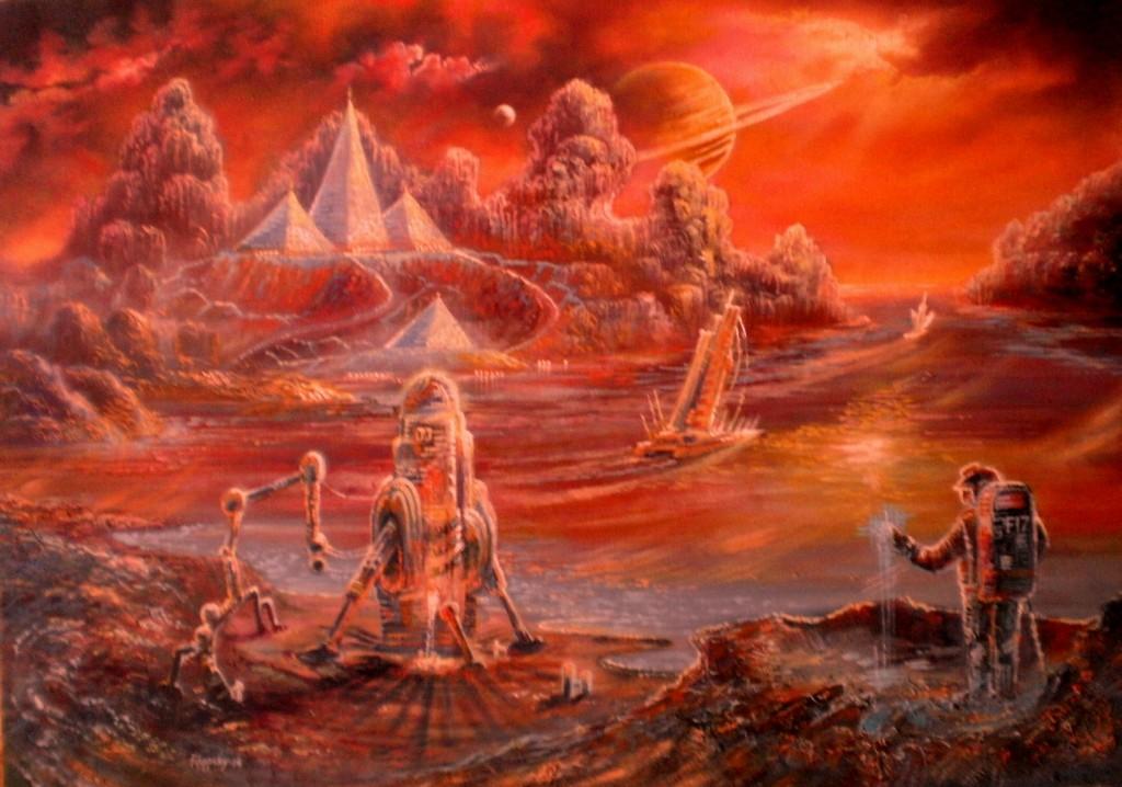 Парусники Титана