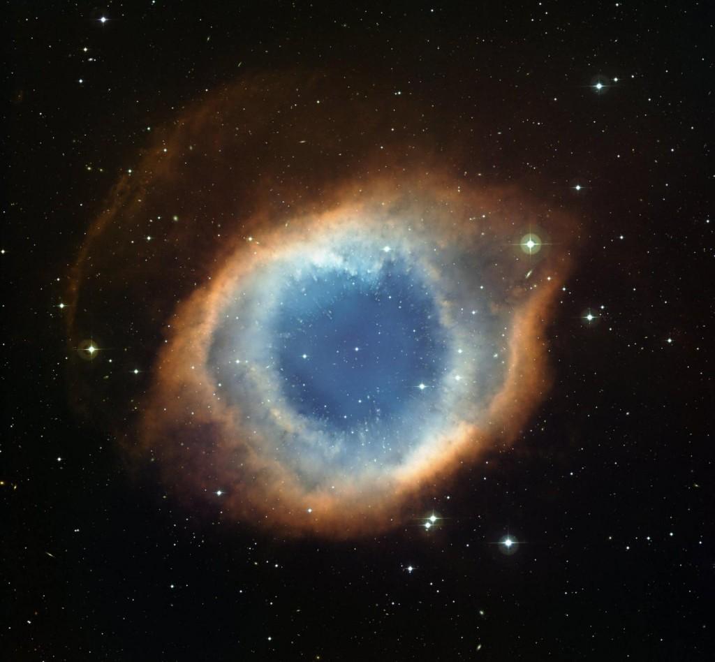 Улитка, снимок телескопа Хаббл