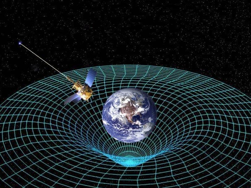Искривление пространства-времени