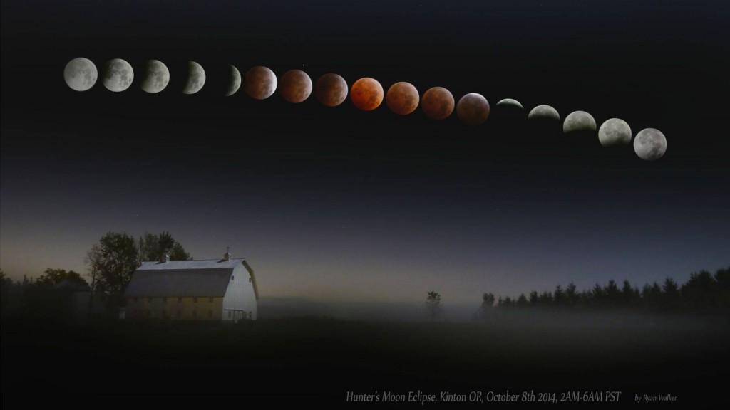 Полное Лунное затмение от 8 октября 2014 года