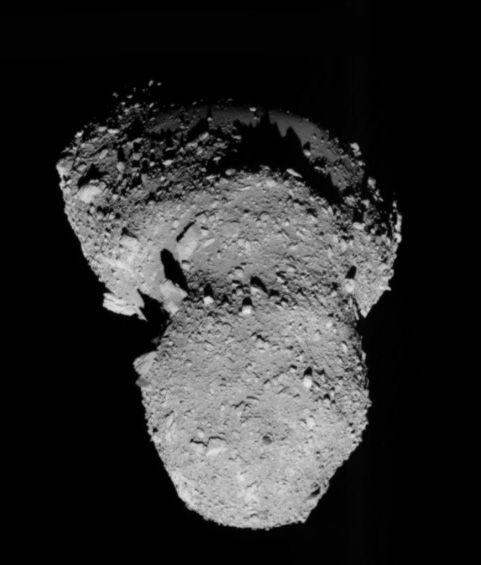 Астероид Итокава с борта КА Хаябуса