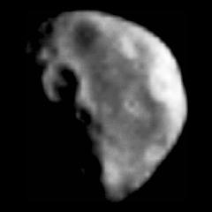 Изображение Дактиля, с расстояния 3900 км