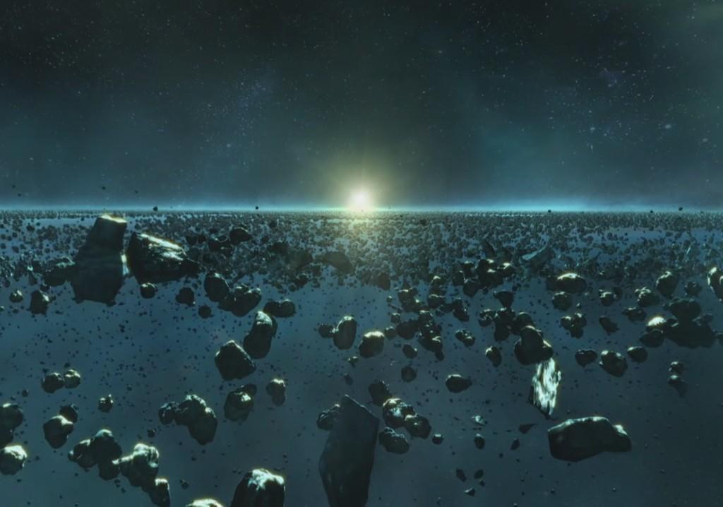 Астероидные пояса в системе Эпсилон Эридана