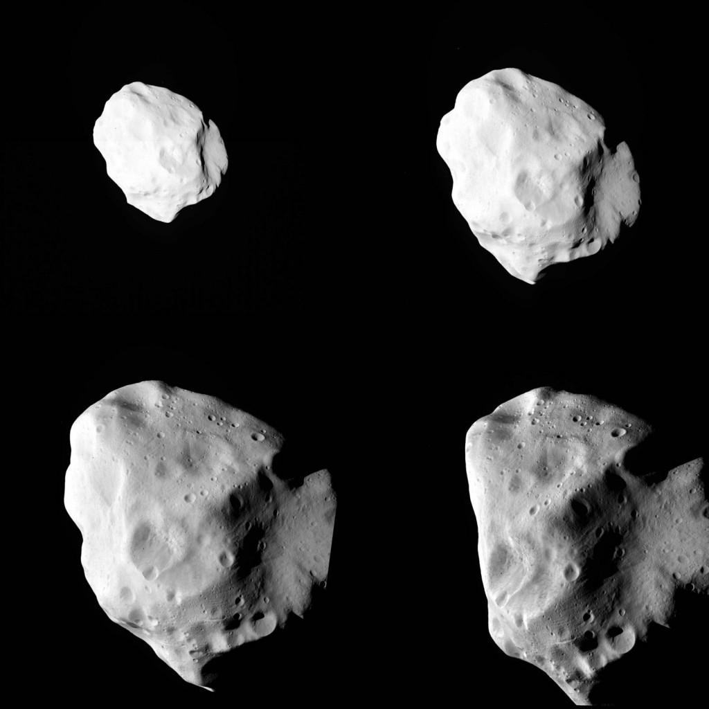 Пролет астроида 21 Лютеция зондом Розетта