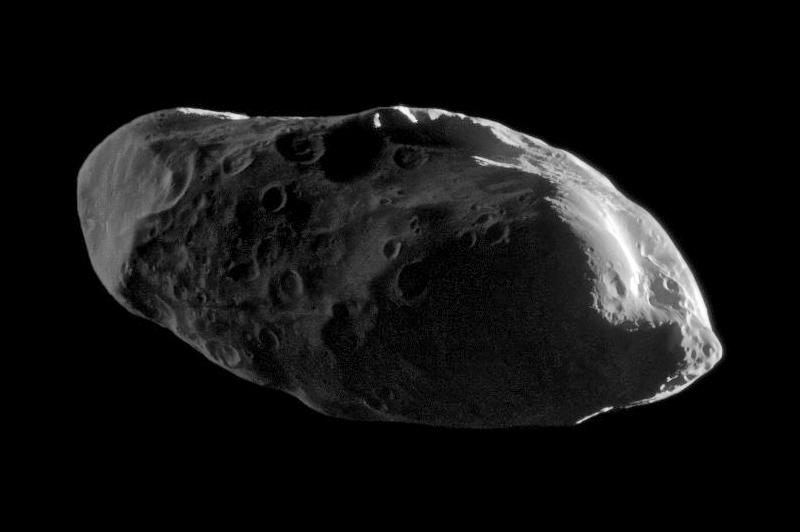Прометей, снимок зонда Кассини