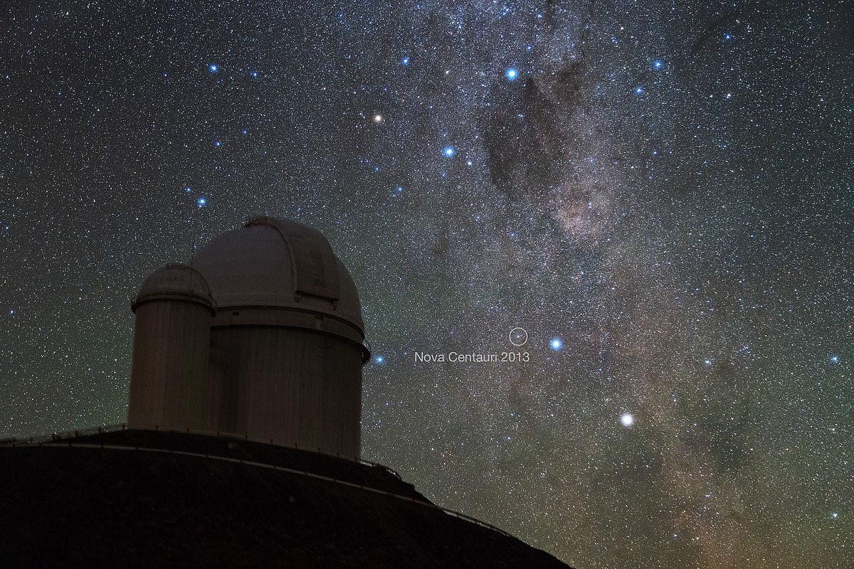 3,6 метровый телескоп ESO