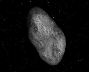 Фива, спутник Юпитера.