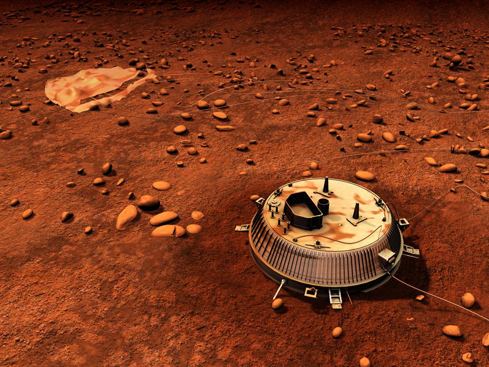 Зонд Гюйгенс на Титане