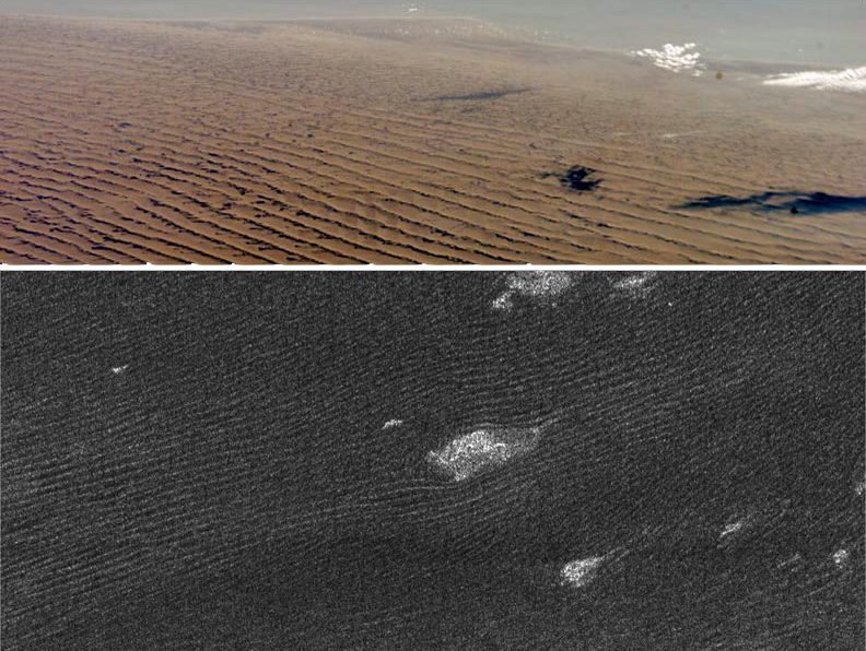 Дюны на Титане