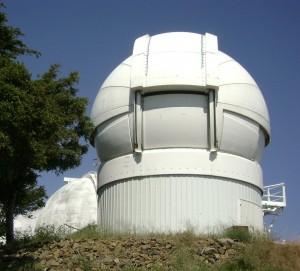 Телескоп Ликской обсерватории.