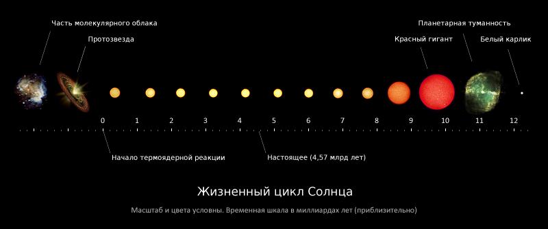 Жизненный цикл Солнца