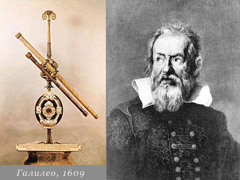 Галилео Галилей и его знаменитый телескоп