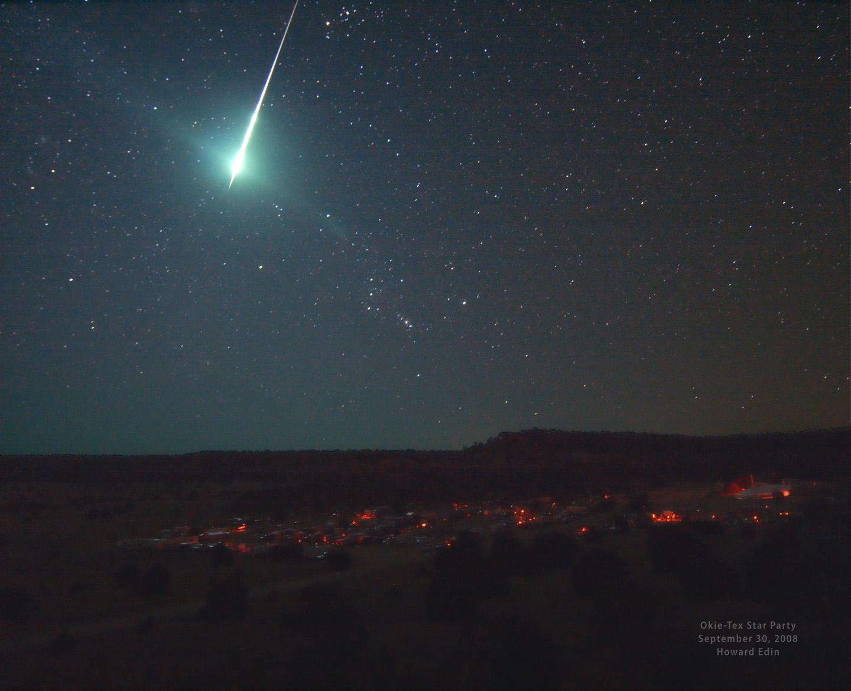 Горение метеоров — один из подарков нашей атмосферы