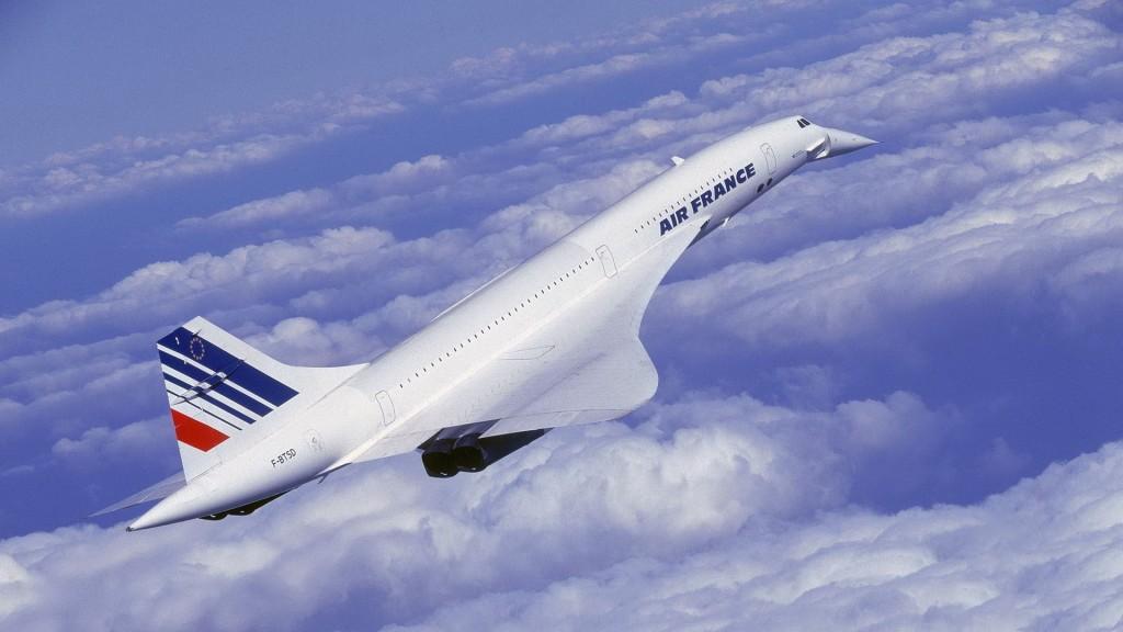 Конкорд — пассажирский сверхзвуковой самолет