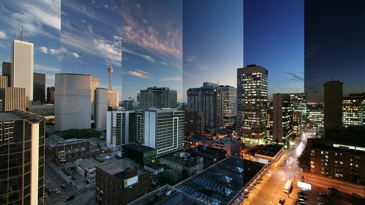 С наступлением ночи города на Земле меняются до неузнаваемости