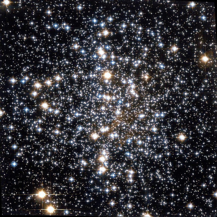 Старейшее звездное скопление Млечного пути — Мессье 4 (M4)