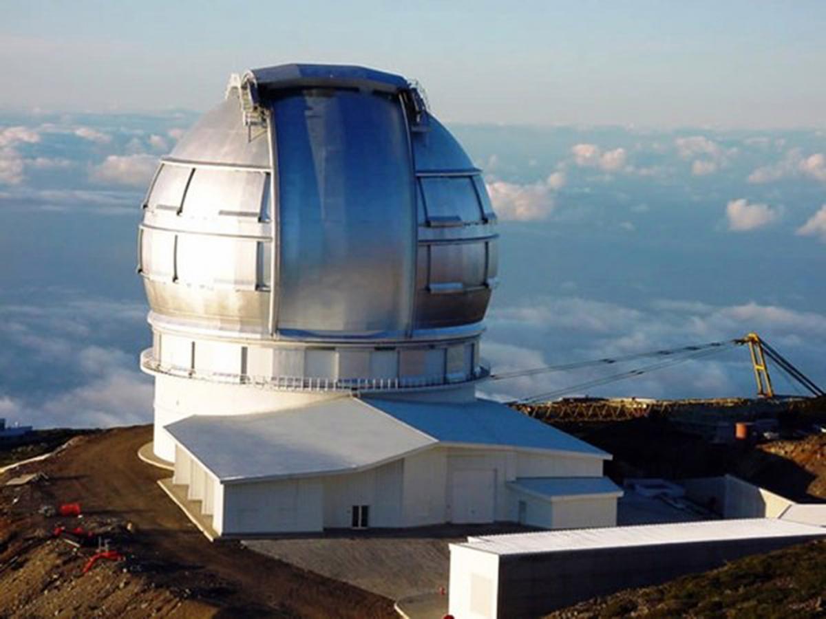 Телескопы — главные инструменты наблюдения за космическими объектами. На фото — телескоп на острове Ла-Пальма, Канарские острова.