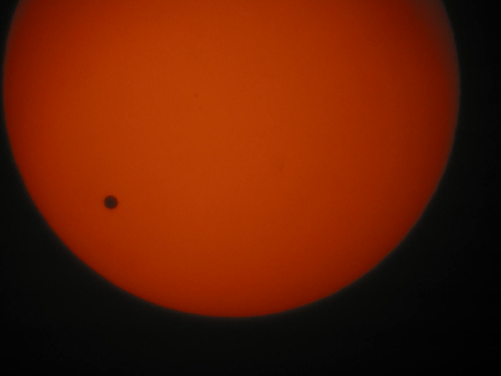 Прохождение Венеры по солнечному диску.