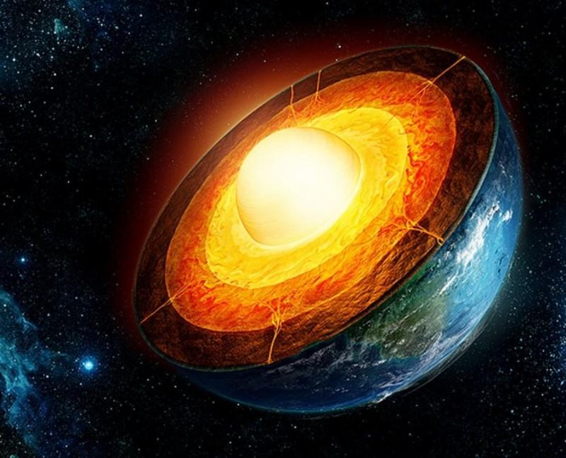 Внутреннее и внешнее ядро Земли