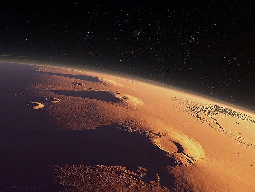 Вулканы Марса