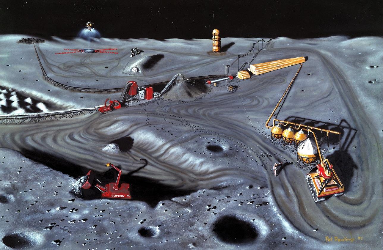 Добыча гелия-3 может стать реальным стимулом колонизации Луны