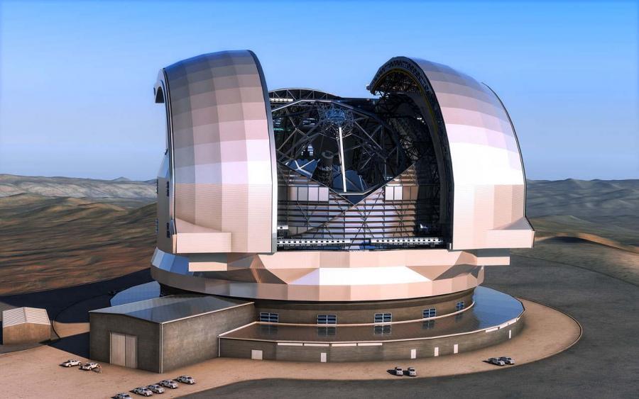 Европейский Чрезвычайно Большой Телескоп