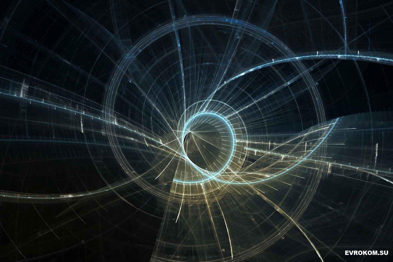 Квантовые связи, пронизывающие наш мир в представлении художника
