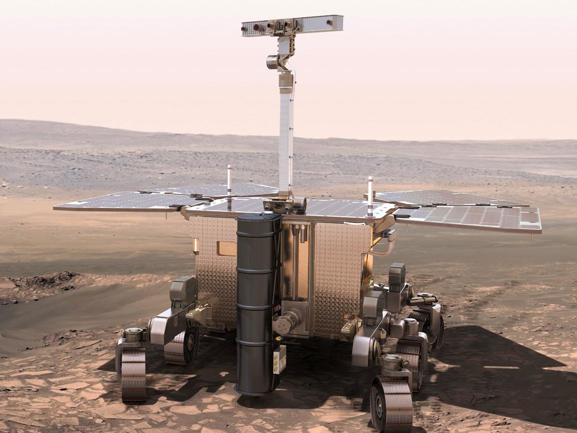 Марсоход ЭкзоМарс
