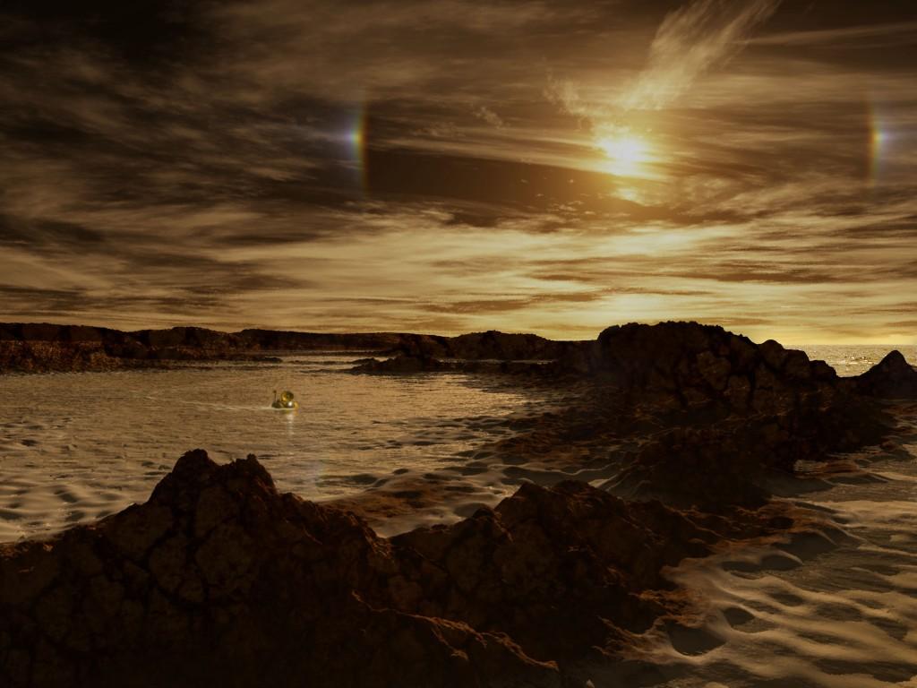 Метановые озера на Титане