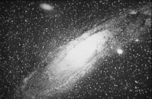 Первая фотография галактики Андромеды, 1888 год