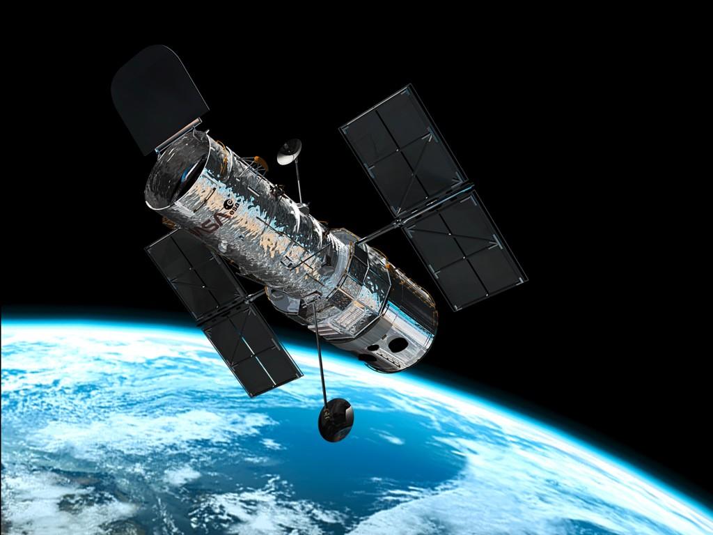 Телескоп Хаббл на околоземной орбите