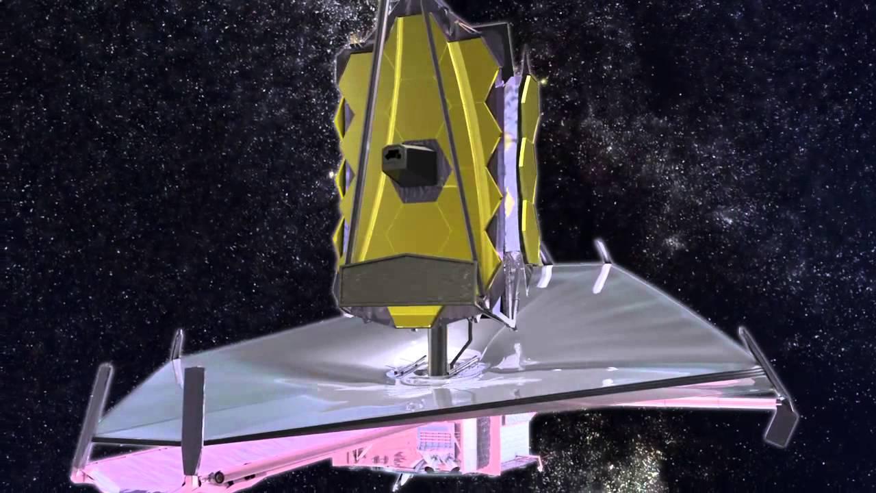 Зеркало телескопа в сложенном состоянии
