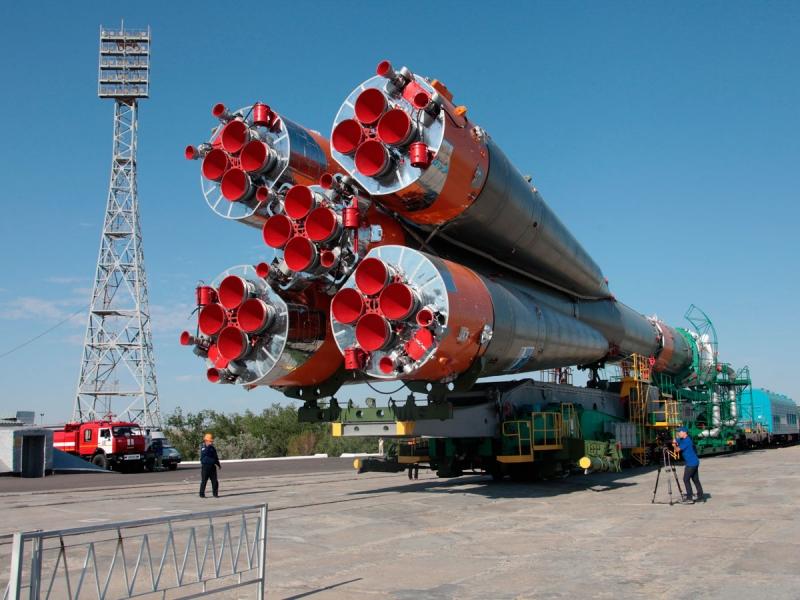 Доставка ракеты