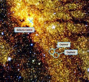 """Цефеиды — """"маяки Вселенной""""."""