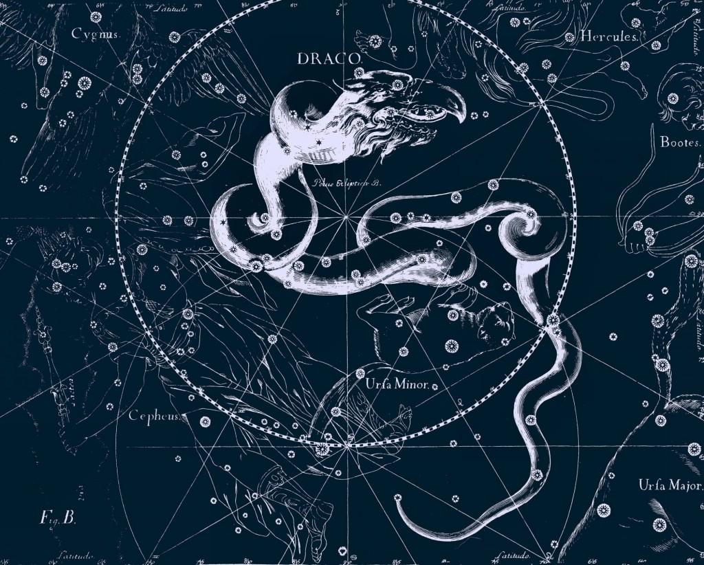 Созвездие Дракон