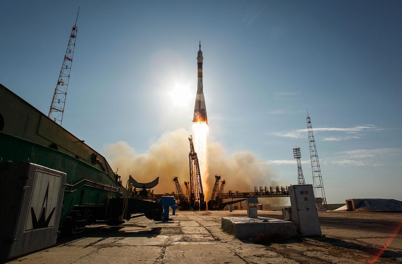 Запуск с Байконурского космодрома