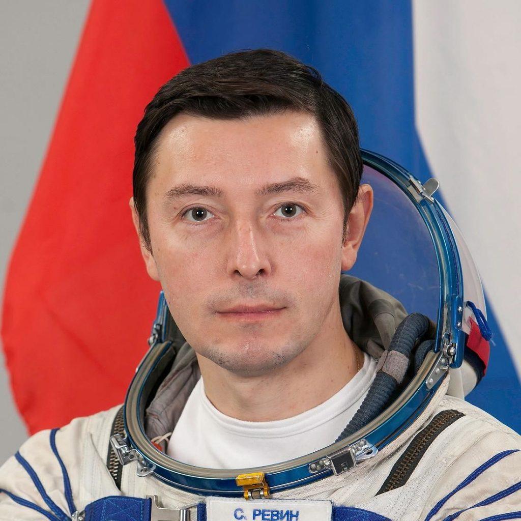 Космонавт Ревин Сергей Николаевич