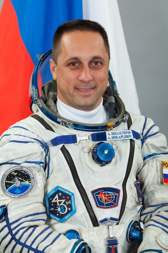 Космонавт Шкаплеров Антон Николаевич