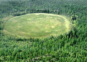 Место взрыва Тунгусского метеорита сегодня