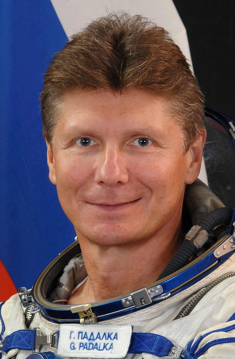 Космонавт Падалка Геннадий Иванович