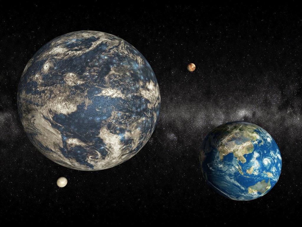 Земля и планета Нибиру, открытая с помощью фотошопа