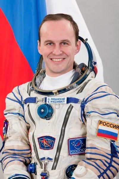 Космонавт Рязанский Сергей
