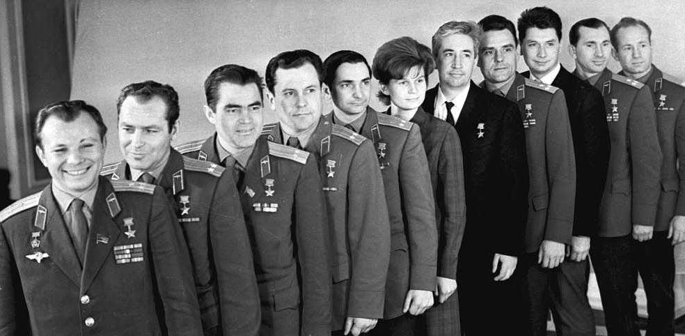 Советские космонавты