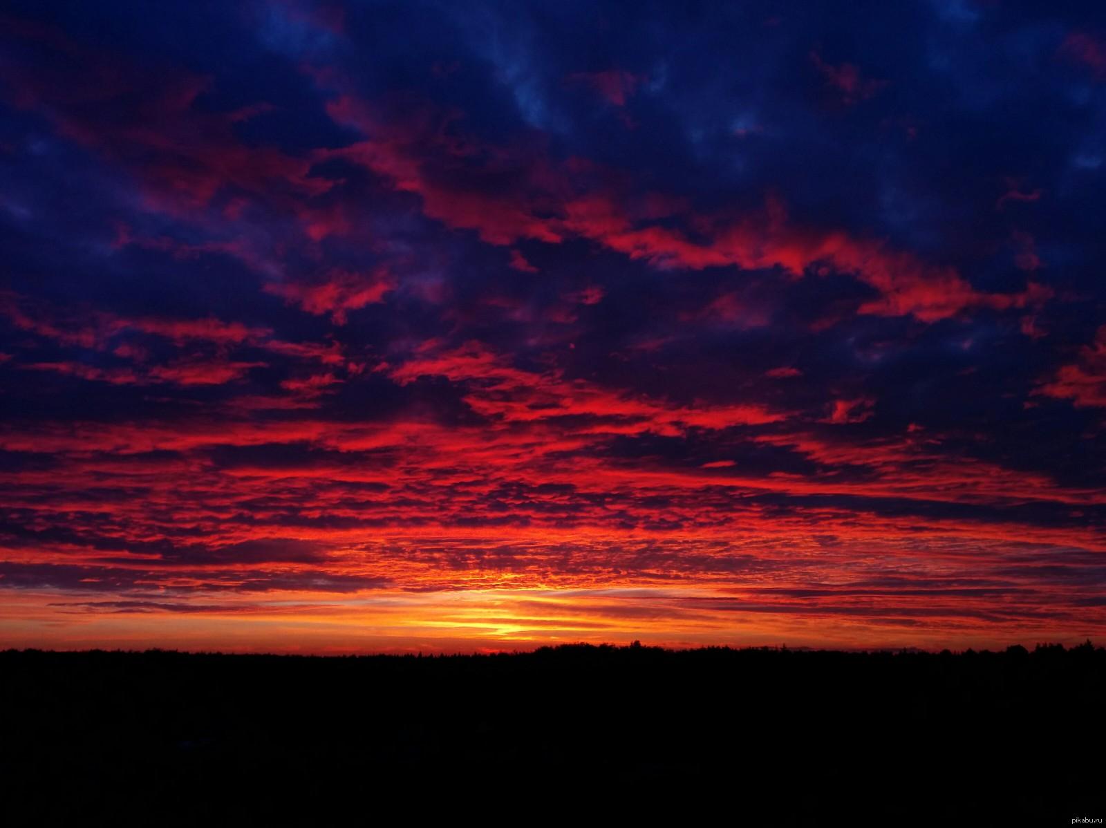 Почему небо голубое, а закат красный?
