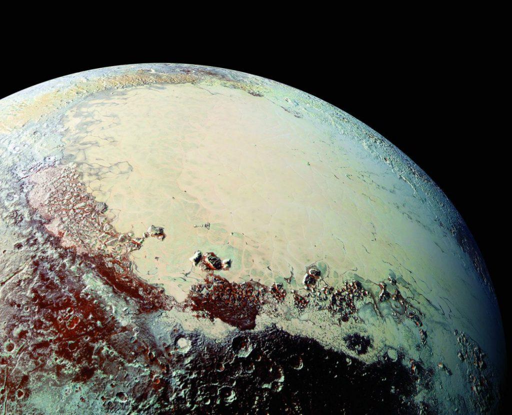 Равнина Спутник на Плутоне