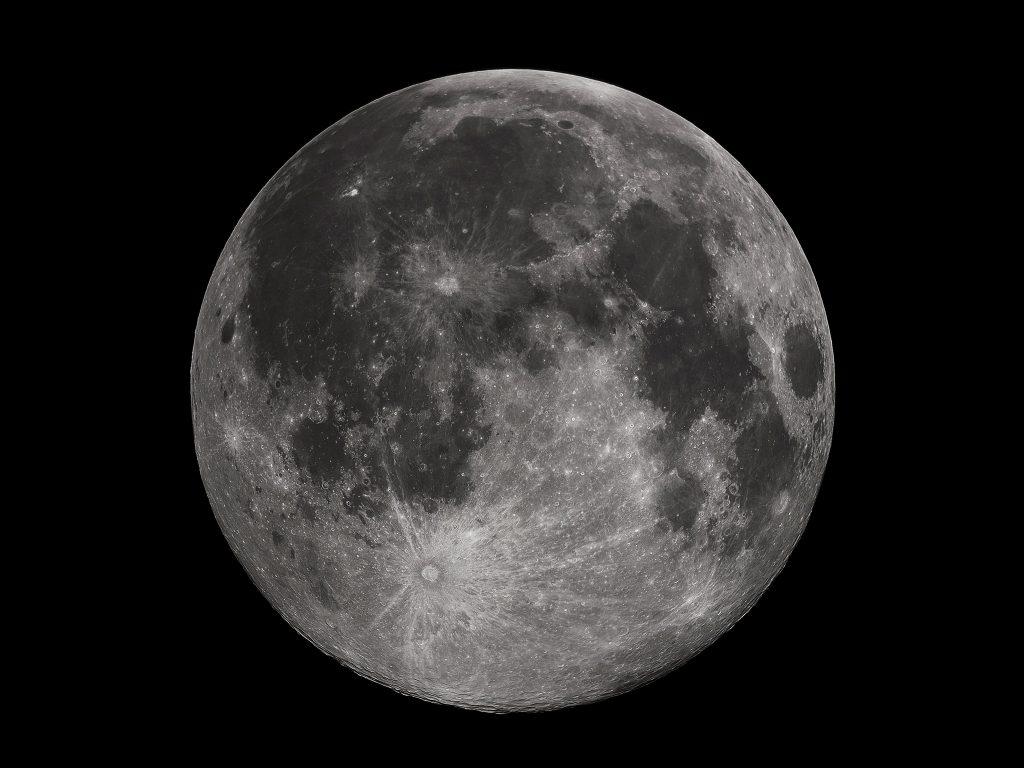 Диаметр Луны