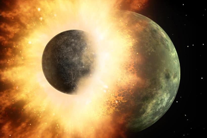 da082ed6f0b95611ab1697b2950586b8 - Как образовалась Луна?