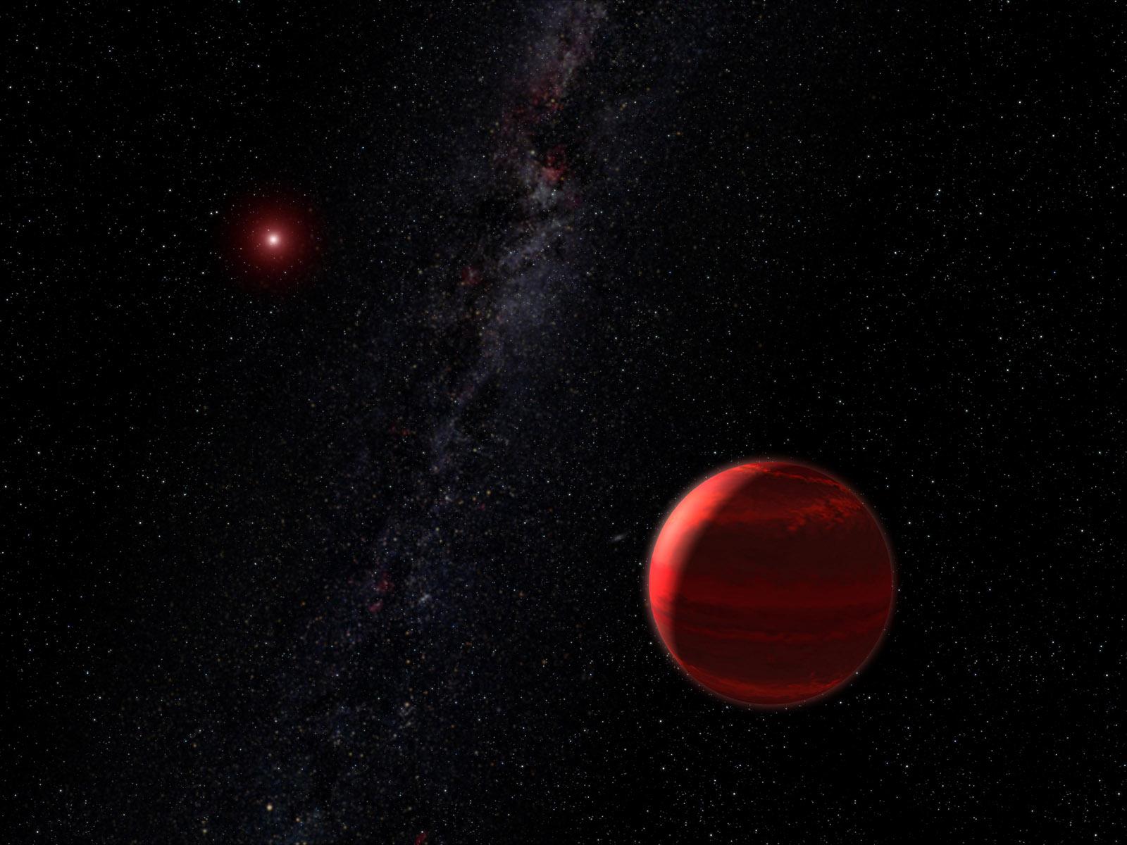 krasniy carlik 1 - Самая маленькая звезда во Вселенной