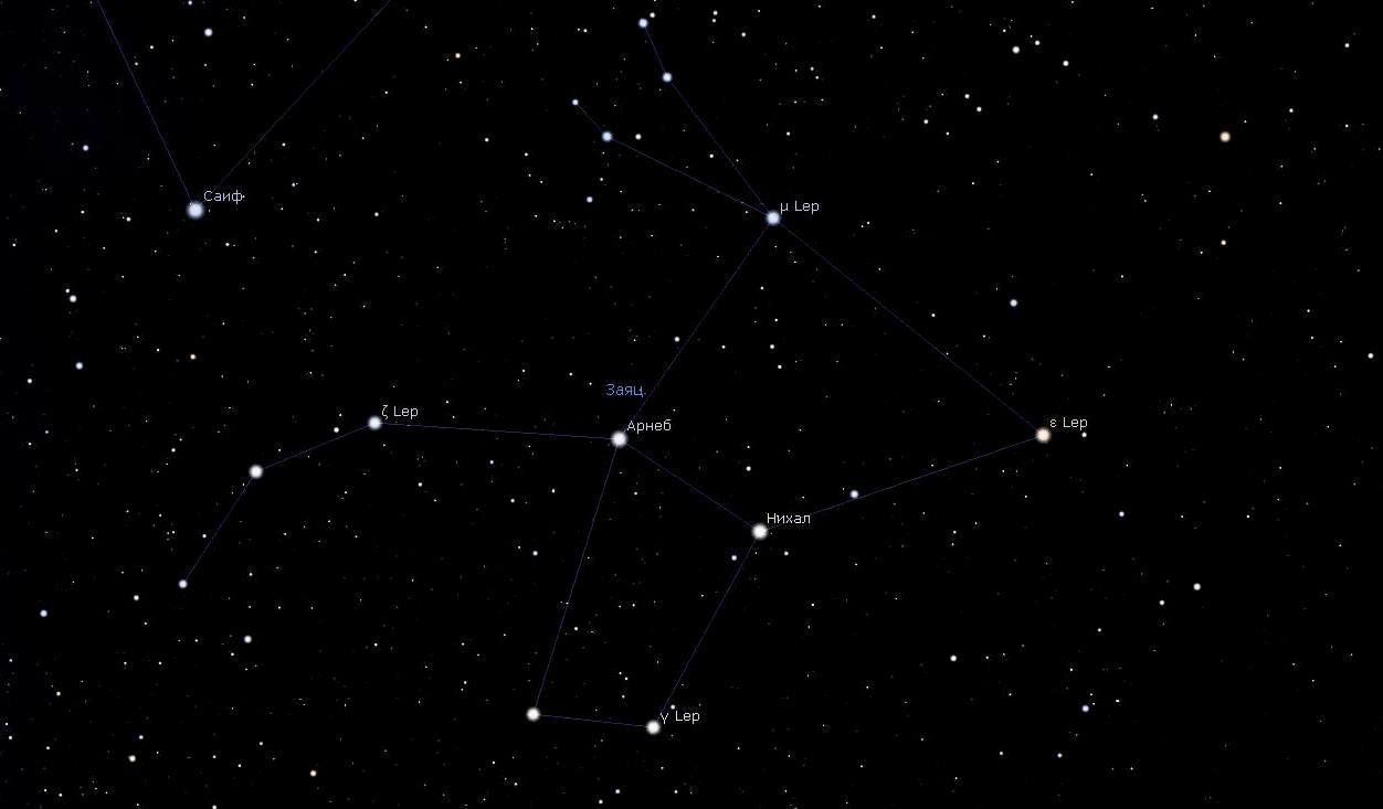 Созвездие Зайца