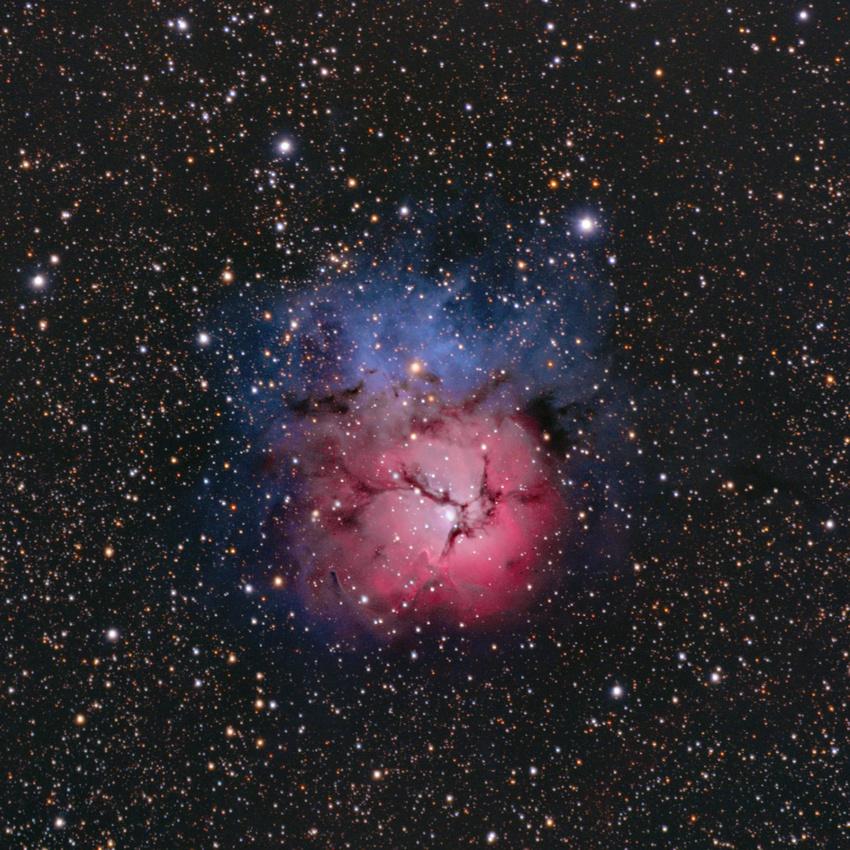 Туманность Тройная (Трёхраздельная) М20